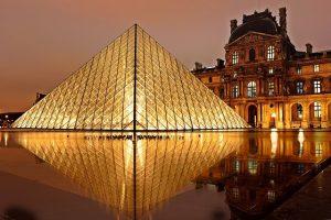 Ferien Kurzurlaub Louvre